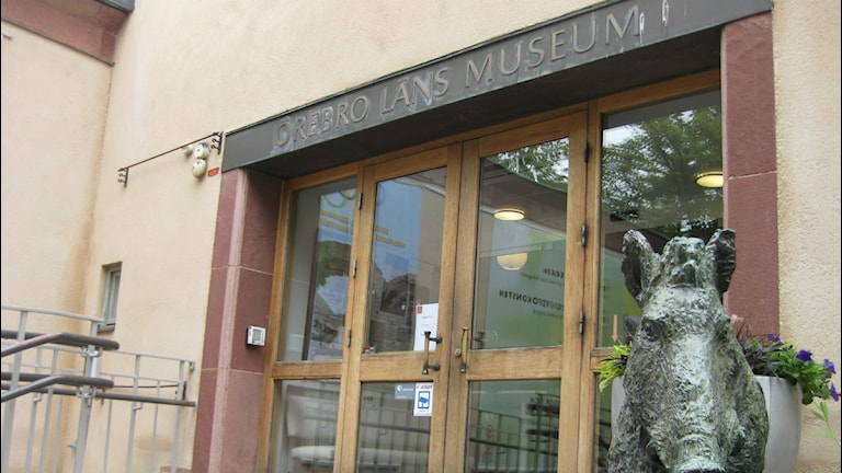 Örebro Läns Museum. Foto:Mårten Rapp/ Sveriges Radio