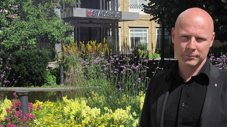 Hans Boskär, administrativt ansvarig på Kumla kommun. Foto: Mårten Rapp/Sveriges Radio Örebro