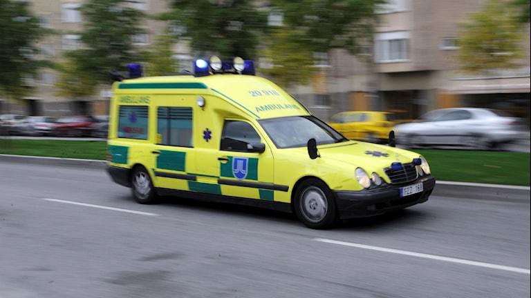 En ambulans. Foto:Scanpic