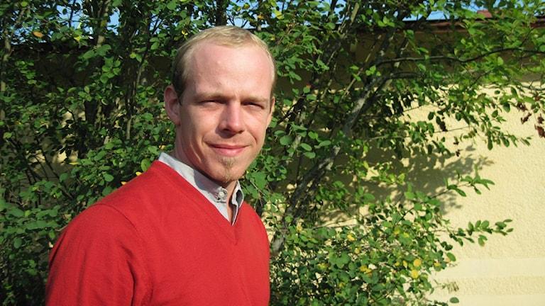 Erik Mararv. Foto: Jaber Fawaz/Sveriges Radio