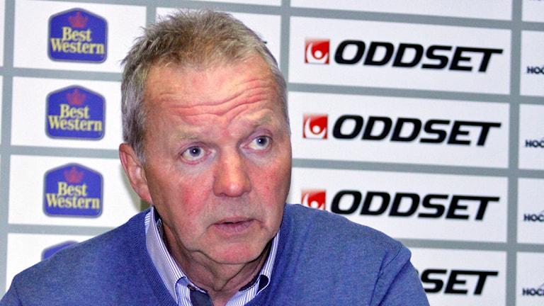 Lenny Eriksson, tränare i BIK Karlskoga. Arkivbild:Valdemar Andersson/SR Örebro