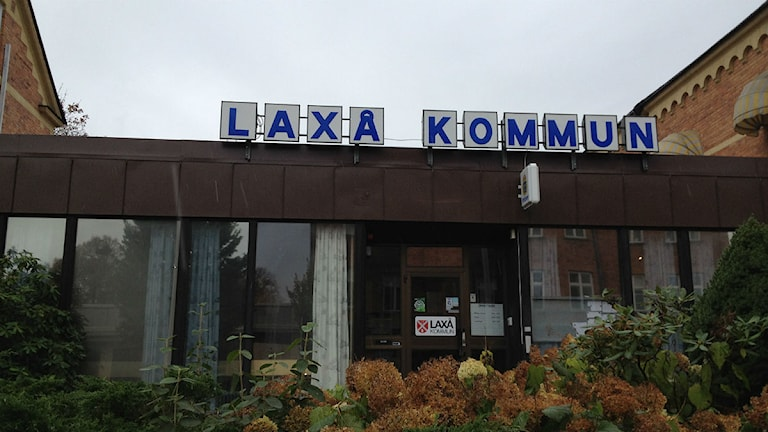 Kommunhuset i Laxå. Foto:Mårten Rapp/Sveriges Radio Örebro.