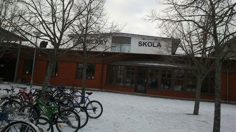 Kumlaby skola. Arkivbild: Sveriges Radio