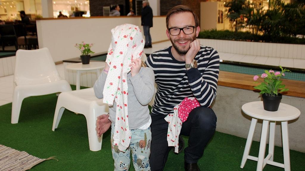 Björn Meyer och hans dotter