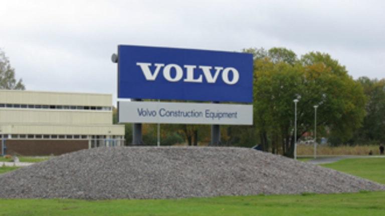 Volvo CE i Hallsberg. Foto SR Örebro