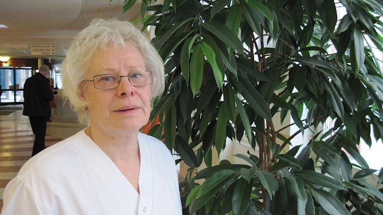 Gunhild Wallin, C, ordförande för vård- och omsorgsnämnd Väster i Örebro.