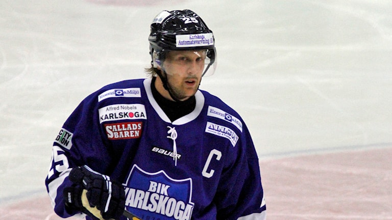 Martin Thelander . Arkivbild:Valdemar Andersson/SR Örebro.