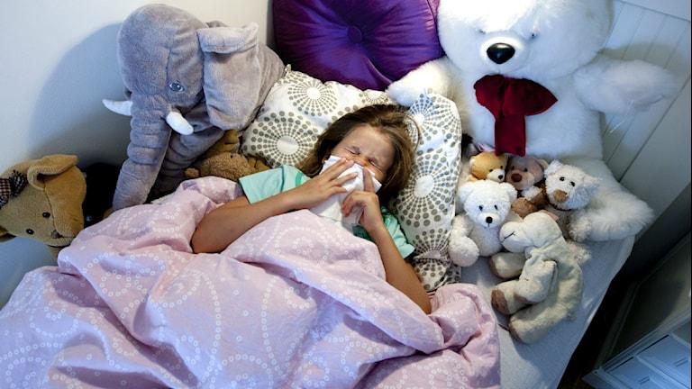 Aldrig tidigare har det betalats ut så mycket ersättning för vård av sjuka barn. Foto:Scanpix.