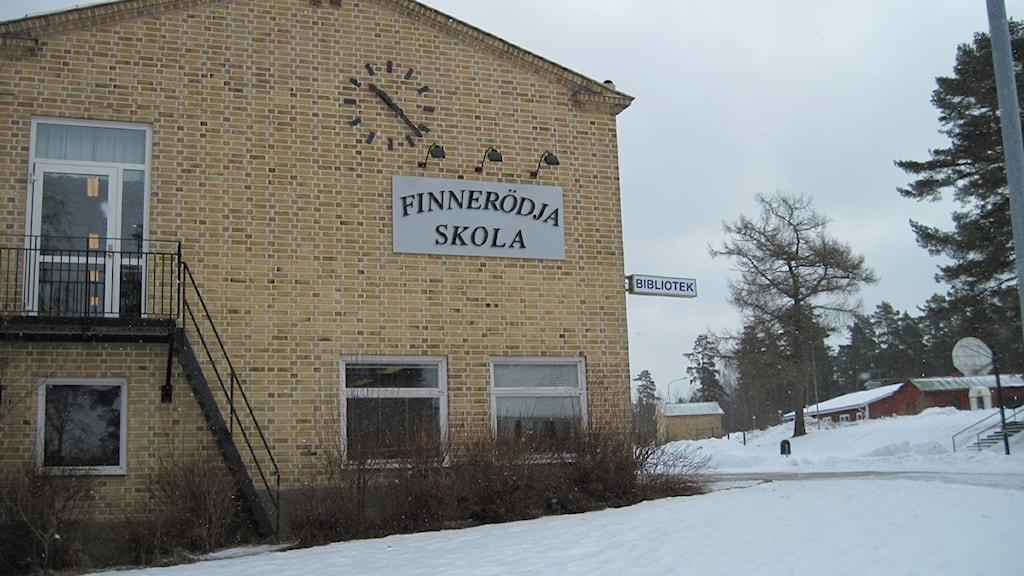 Finnerödja skola. Foto:Carina Galanou Ipsonius/Sveriges Radio Örebro