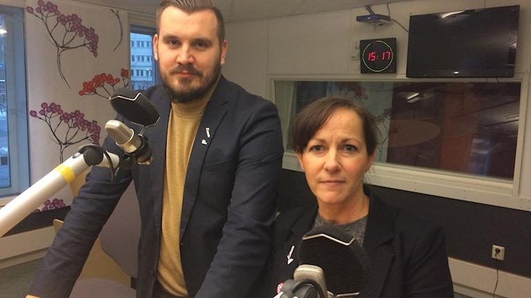 Jasmin Benca och Charlotta Stenhem Örebro läns idrottsförbund.