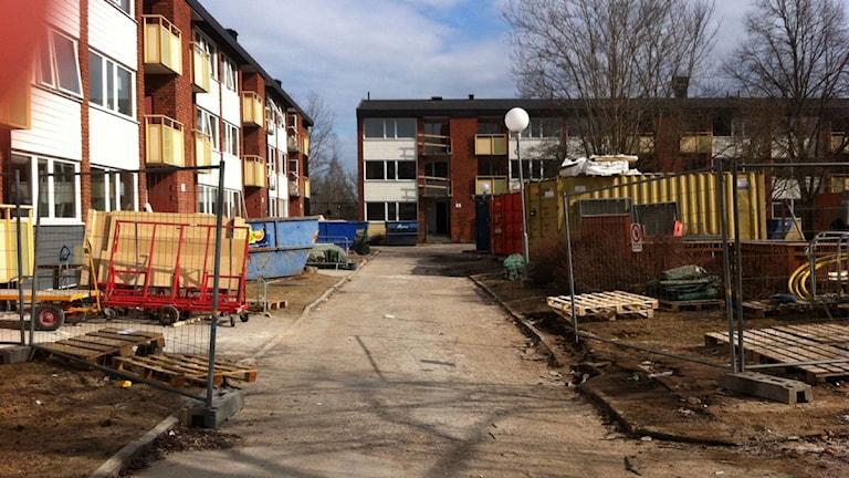 Renovering av lägenheterna i Varberga i Örebro.