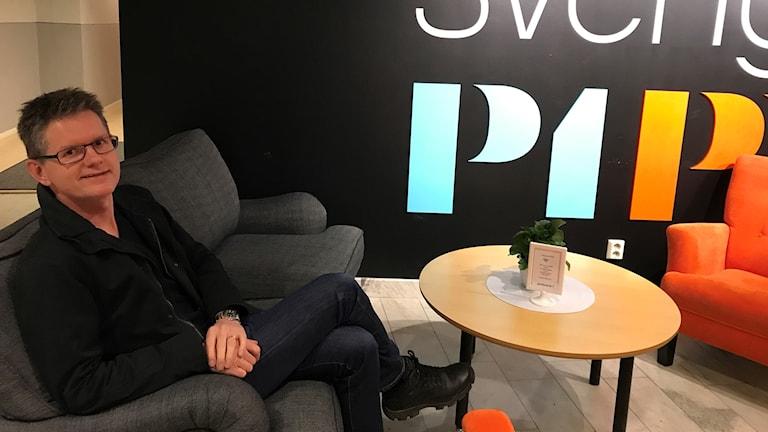 Lars Göran Rosén. Foto: Sveriges Radio Örebro.