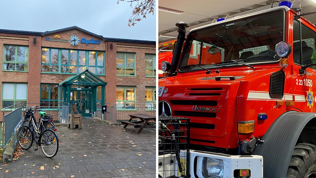 Automatlarm, brand Örebro län