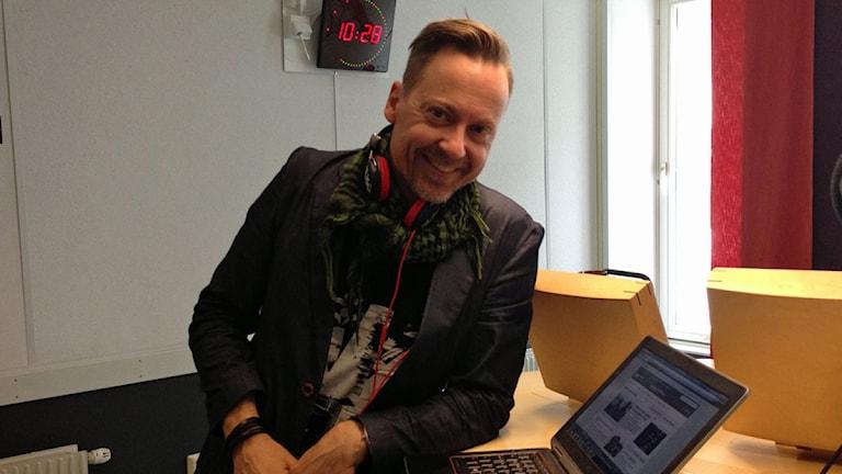 Jonas Edlund. Foto: Madde Klippel/Sveriges Örebro