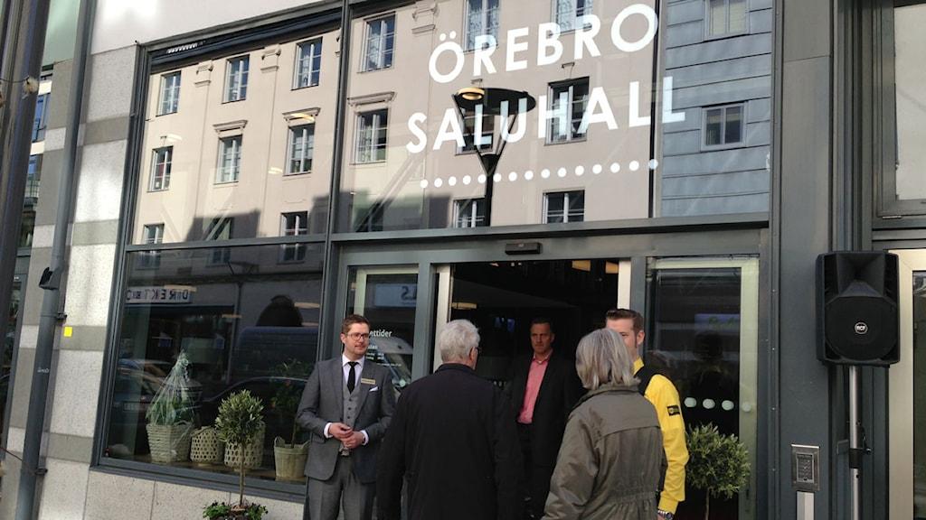 Örebro Saluhall öppnar. Foto: Madde Klippel/Sveriges Radio