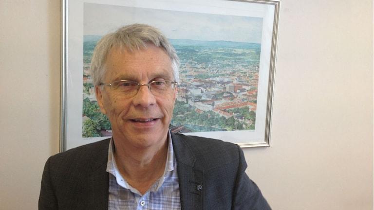 Lennart Bondeson, kristdemokrat och kommunalråd. Foto: Mårten Rapp/Sveriges Radio.