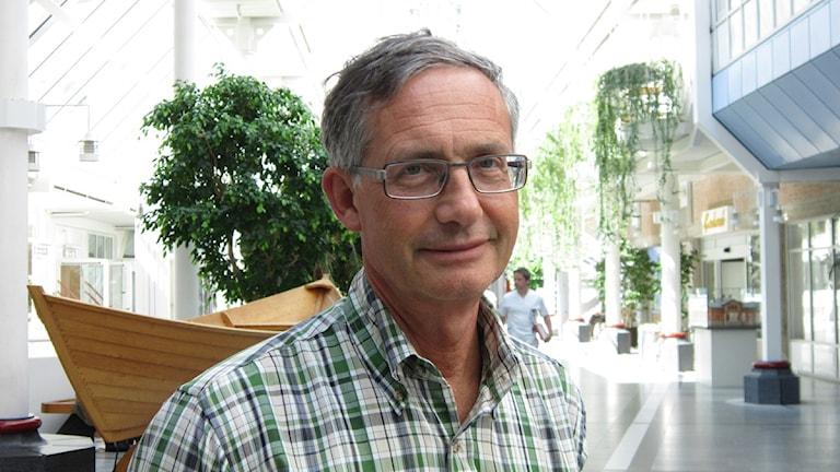 Hans Fredlund, smittskyddsläkare i Örebro län. Foto: Marie Hansson, P4 Örebro.