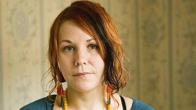 Maria Sveland Foto: Sveriges Radio.