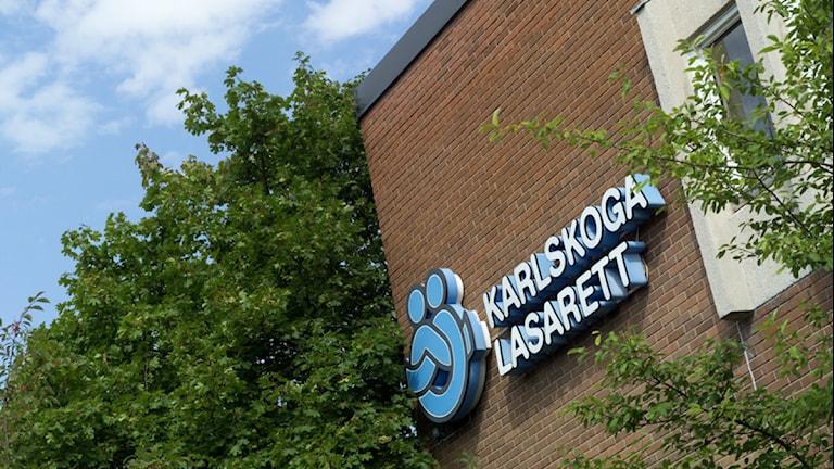 Karlskoga lasarett. Foto:Örebro läns landsting.