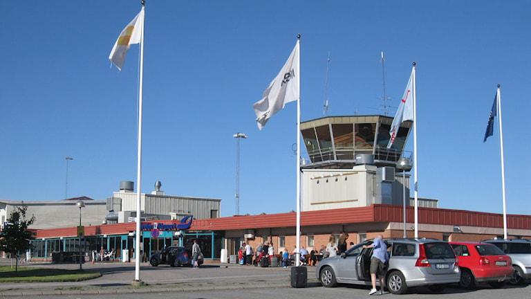 Örebro flygplats. Foto:Malin Helenius/Sveriges Radio Örebro