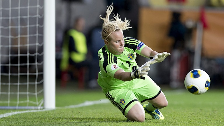 Kristin Hammarström Fotbolls-EM 2013.
