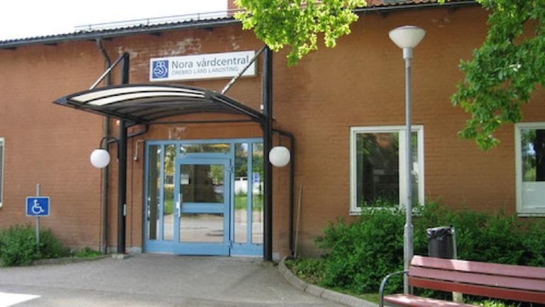 Nora vårdcentral har inte tappat så många patienter sen Hälsovalet infördes. Foto Marie Hansson/P4 Örebro.