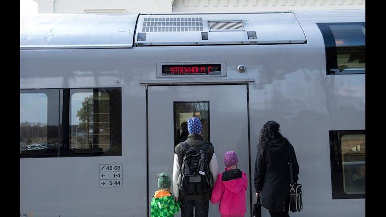 Färre tågförseningar i framtiden. Foto: Fredrik Sandberg Scanpix
