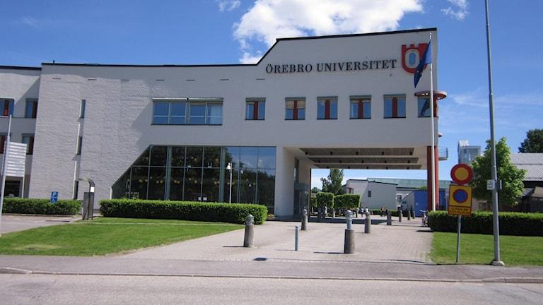Örebro universitet. Foto; Marie Hansson/P4 Örebro.