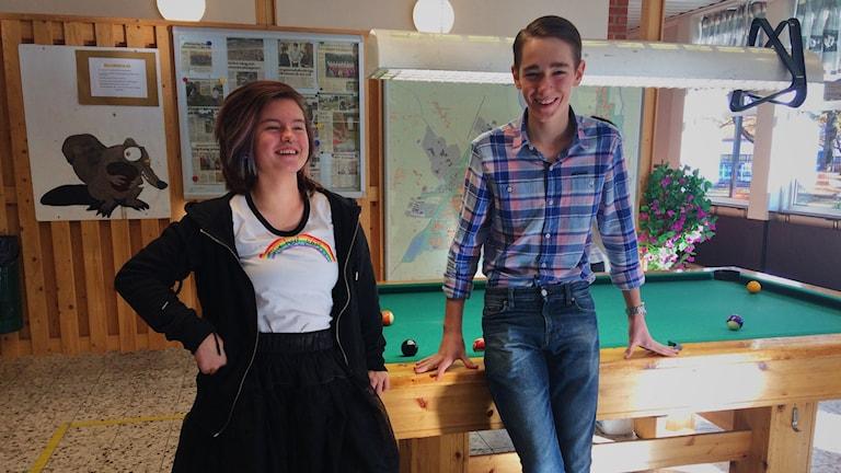 Wilda Widmark och Sigge Eklund