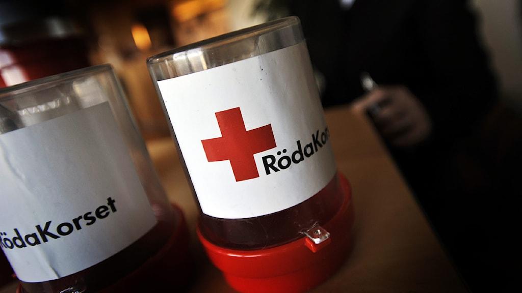 Personalen i Hällefors flyttar till Örebro när Röda korset lägger ner. Foto: Yvonne Åsell /Scanpix