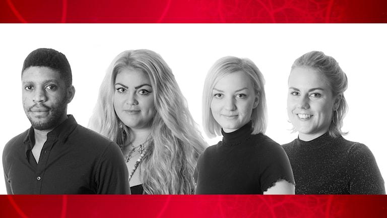 De fyra finalister till P4 Örebros lokalartist 2016