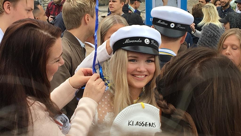 Miranda, student 2017, Örebro.