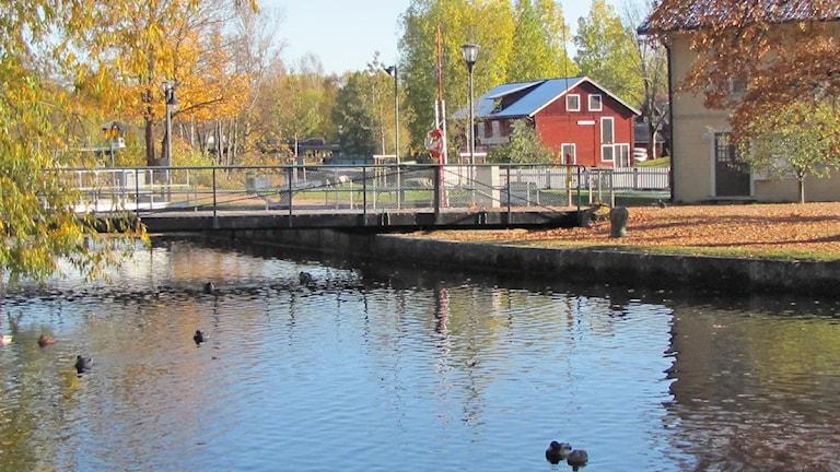 Slussen Örebro. Foto:Gabriel Stenström/SR Örebro