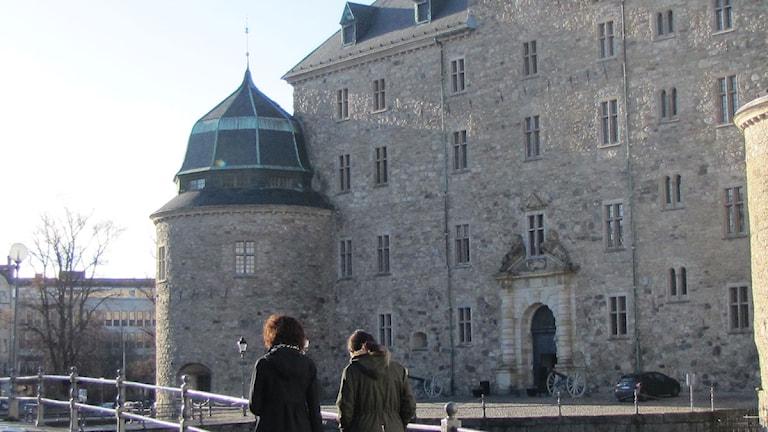 Slottet i Örebro. Foto: Sofie Larsson.