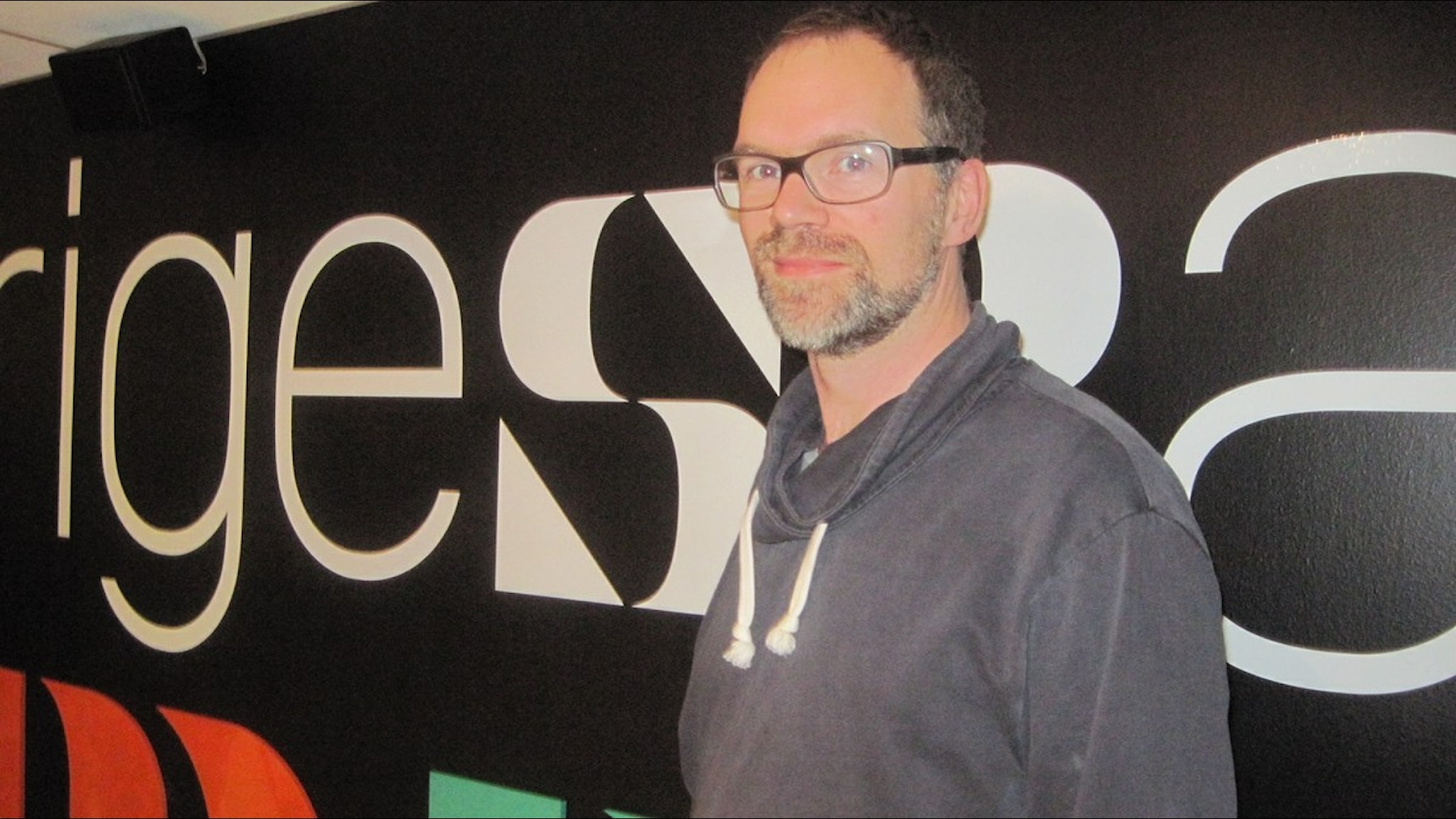 Måns Lagerlöf.  Foto: Lisa Ericsson/Sveriges Radio.