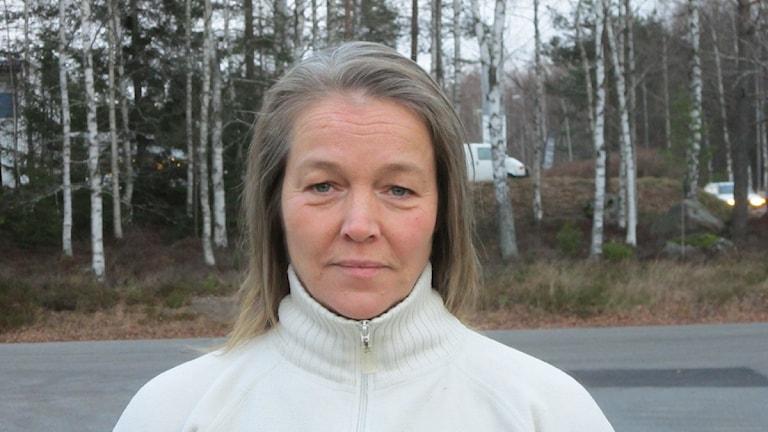 Helena Vilhelmsson, Centerpartiet i Nora. Foto: Marie Hansson/P4 Örebro.