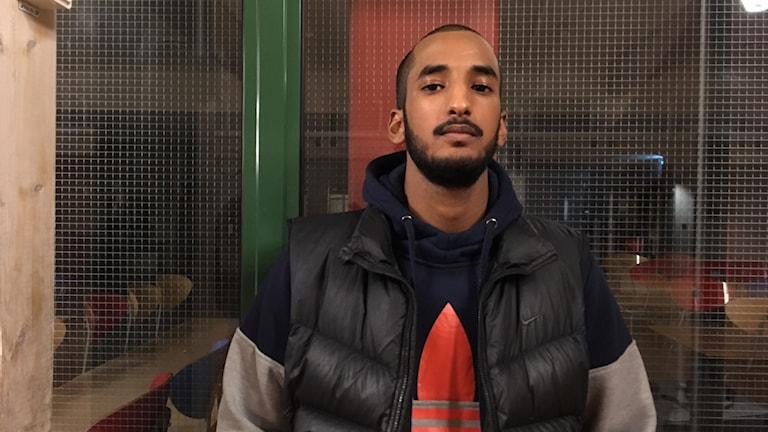 """Najib Mohamed representerar Örebro i  finalen av """"Ortens bästa poet"""" i november."""