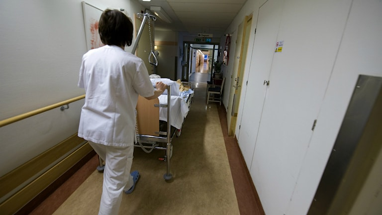 Patient. Foto:Nyhetsbyrån TT.