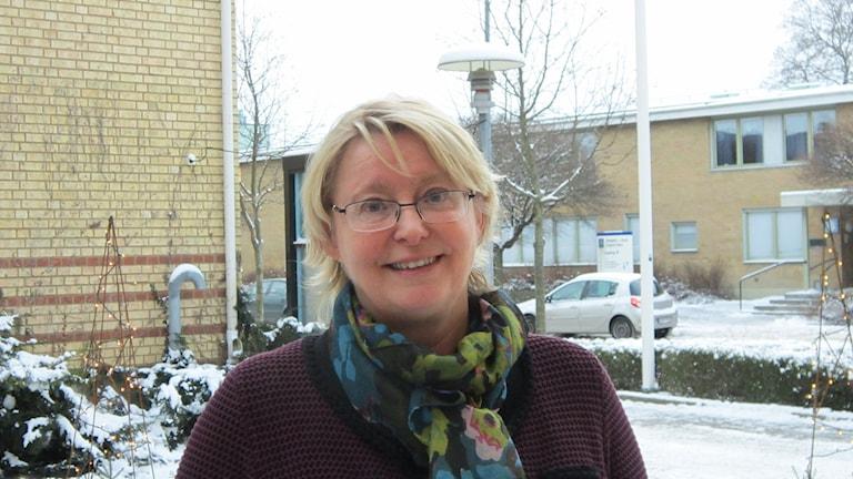 Birgitta Johansson-Huuva, chef för psykiatrin Örebro läns landsting. Foto: Marie Hansson/P4 Örebro.