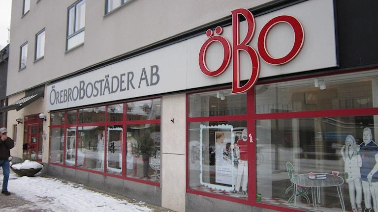 Örebro Bostäders huvudkontor. Foto: Marie Hansson/P4 Örebro.