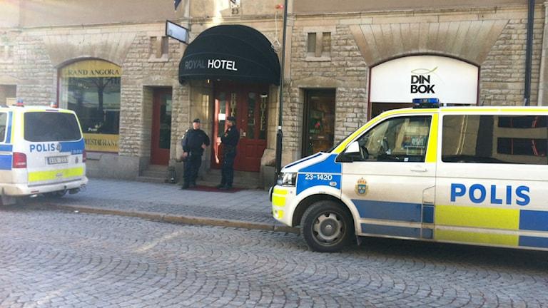 Plaza hotell.  Arkivfoto: Sofia Broomè/ P4 Örebro