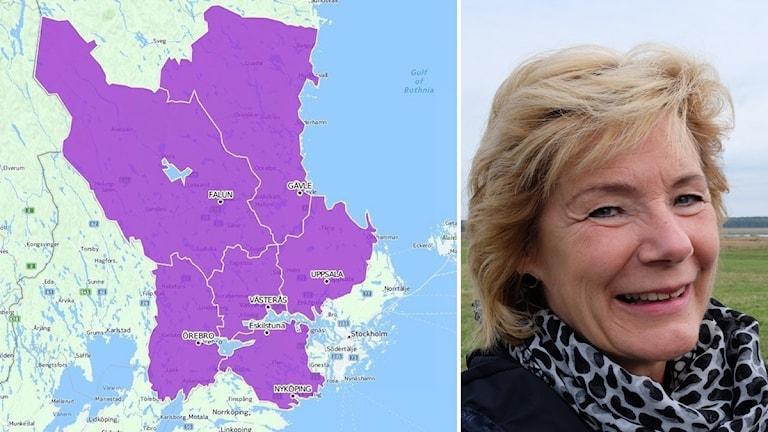 Storregioner Svealands län Maria Larsson landshövding Örebro