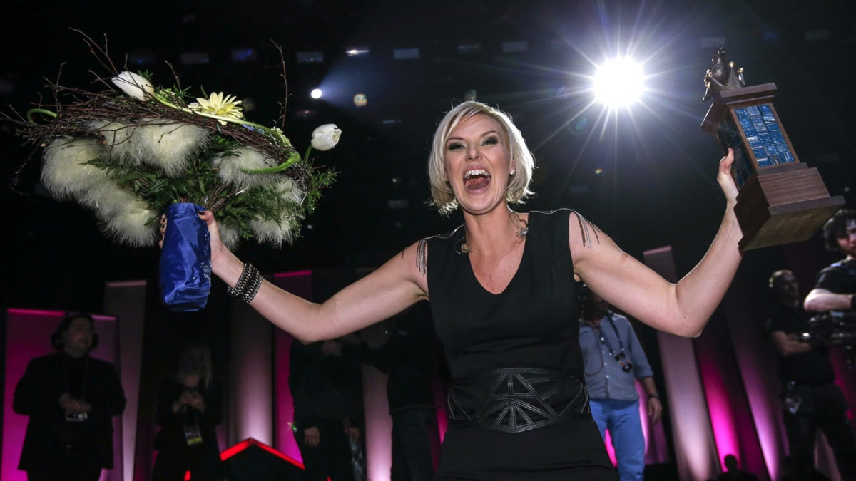 Sanna Nielsen vann Melodifestivalen 2014.