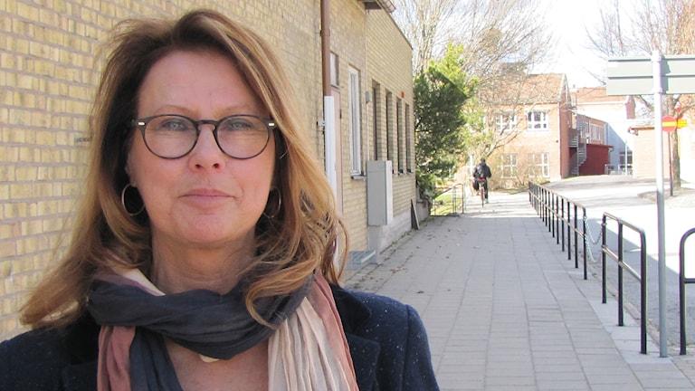 Christina Johansson, Moderaterna i Hällefors. Foto: Sveriges Radio.