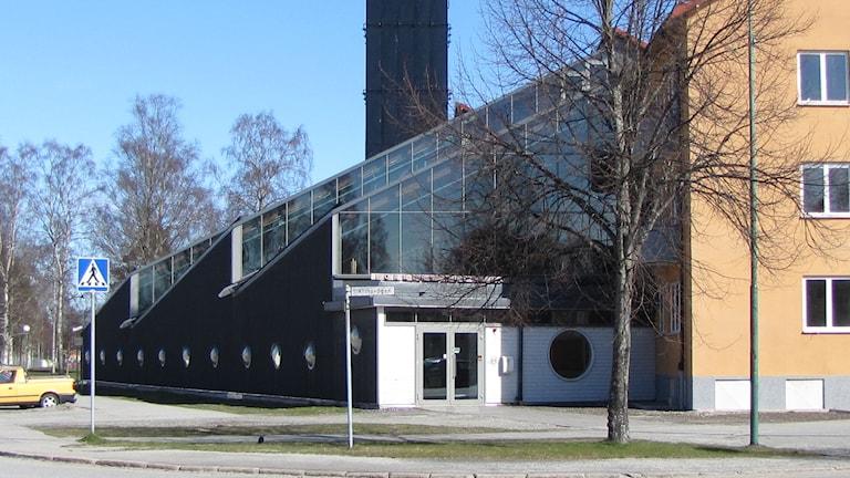 Formens Hus i Hällefors. Foto: Gabriel Stenström/Sveriges Radio