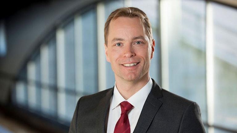 Jonas Eriksson (MP). Riksdagsledamot från Örebro län.