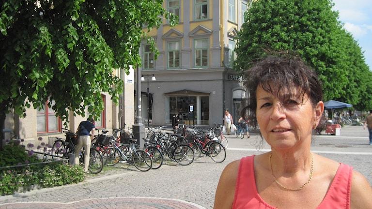 Fisun Yavas, S, ordförande i jämställdhetsdelegationen i Örebro. Foto: Maria Elisson SR Örebro