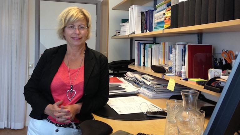 Åsa Thor Gustavsson är HR-chef på USÖ. Foto: Isabelle Strengbom/Sveriges Radio
