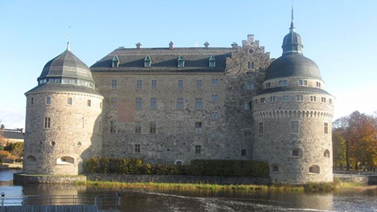 Örebro slott är en av Örebros stoltheter. Foto: Sandra Nielsen/Sveriges Radio.