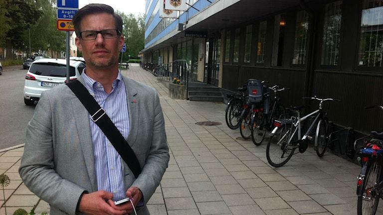 Björn Sundin menar att anpassning av träningstider kan hjälpa. Foto : Isabelle Strengbom / Sveriges Radio